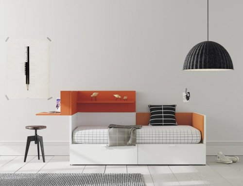 Our NEST collection allows you to incorporate accessories and complements to your furniture