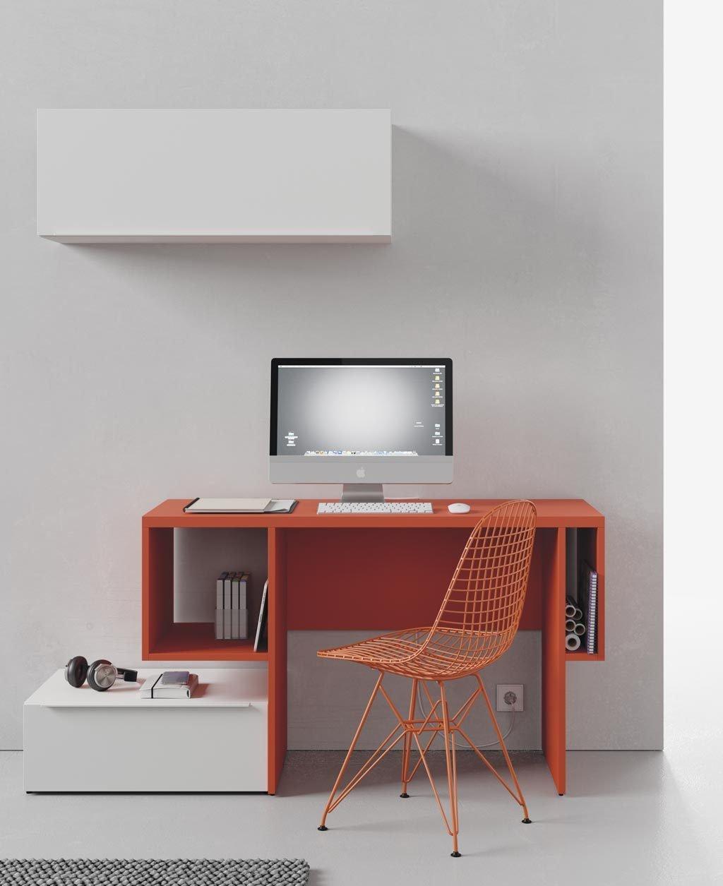 ¿Zona estudio o pequeño despacho? tu decides que uso le das a la mesa Cubist