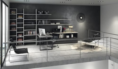 Home office that you can create with the furniture in our NOLIMITS+ collection