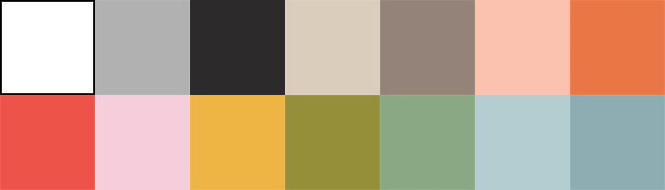 Colores lisos de las colecciones Infinity02 y NOLIMITS+