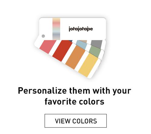 Colours finishes jotajotape